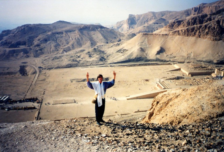 Ramariel reclaiming his true authority in the Valley of the Kings.
