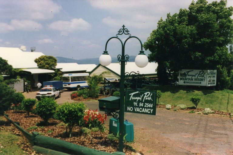 Here is the Tranquil Park Hotel overlooking the Glasshouse Mountains where we held our Master Cylinder preparations.