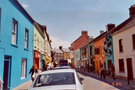 The adorable town of Dingle.
