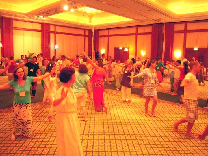 As usual, we began each session by dancing, this time to an amazing soundtrack of exquisite Balinese music.