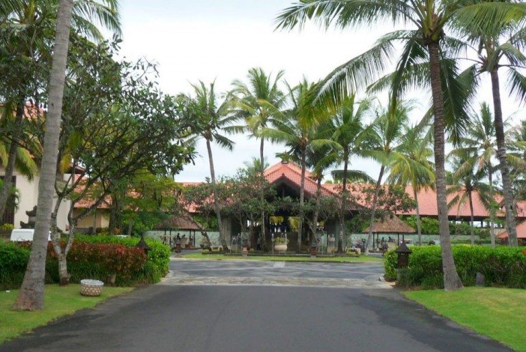 The beautiful Pan Pacific Nirwana Resort in Tanah Lot, Bali was the home of our Ninth Gate Master Cylinder.