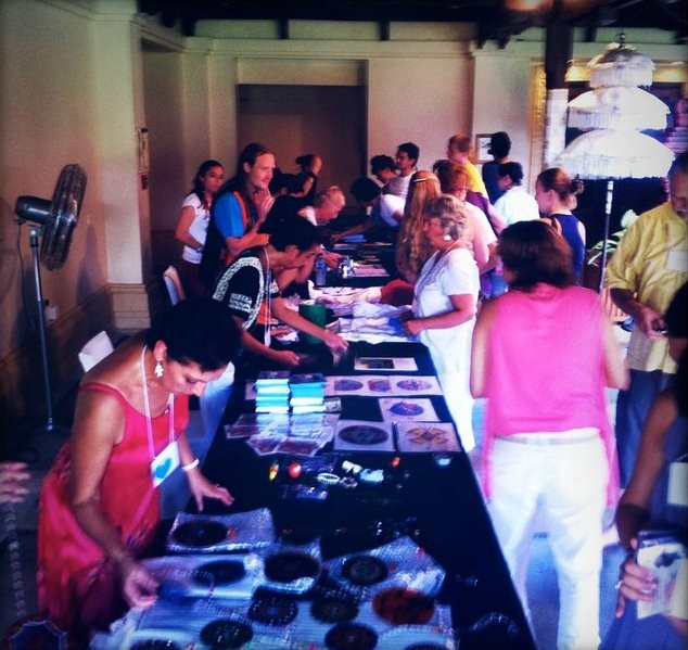 Our Sales Area was extremely popular during breaks,  selling a variety of products from around the world.