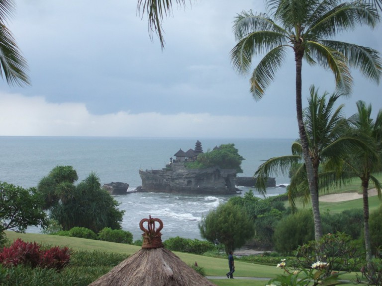 Throughout our week of Master Cylinder preparations,  the Tanah Lot Temple was an enduring presence.