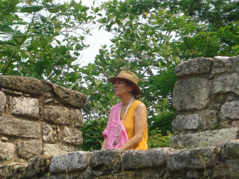We returned to Temple X at Palenque two days later, and again Solara clicked into position as a key.