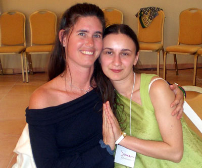 Kalasara from Hawaii is One Being with Diana from Romania.