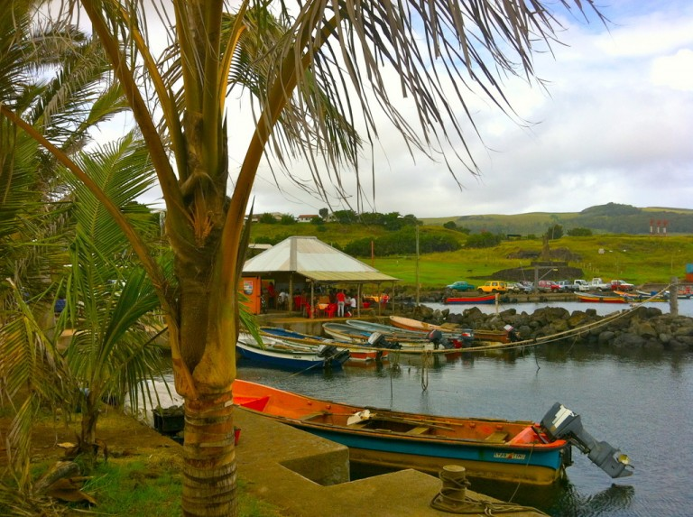 Hanga Roa is the only town on the island of Rapa Nui.